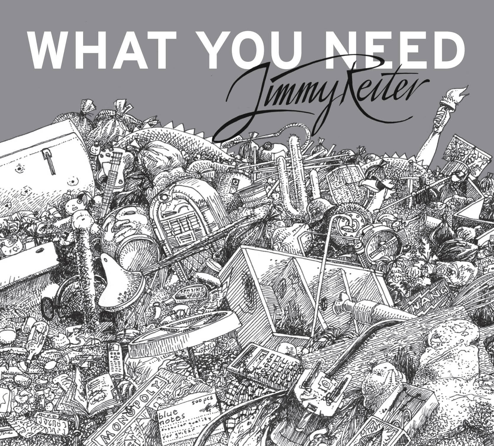 What You Need Cover
